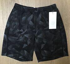 RARE lululemon Seawheeze Men's Pace Breaker Shorts Medium Camo NEW Black M