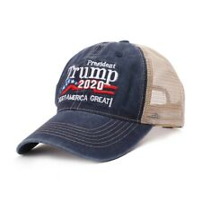 Trump Hats Keep America Great 2020 Campaign Mesh Hat Adjustable Baseball Cap Hot