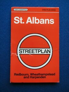 Geographia Street Map & Street Index - St. Albans   1980's