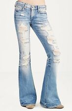 True Religion $259 Women's Karlie Bell Flare Brand Jeans - WC658VL6