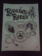 1992 44TH ANNUAL RIGGINS RODEO PROGRAM