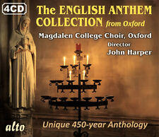 4 CD BOX ENGLISH ANTHEM COLLECTION 1540 - 1988 MAGDALEN COLLEGE OXFORD