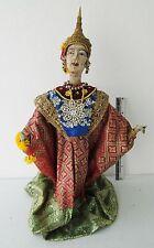 """VINTAGE 24 inch Handmade Thai """"Ramayana Epic"""" Rod Puppet Queen Kausalya"""