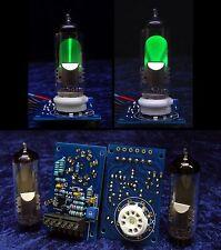 2x tubi di visualizzazione stereo cassette magico (come em80) Tube/VALVE VU INDICATOR