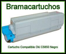 Toner Reciclado Negro NON OEM OKI 8k 43865724 C5850 C5950n C5950