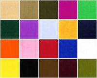 """VELBOA SOLID Faux Fur Fabric / 60"""" WIDE / SOLD BY  THE  YARD"""