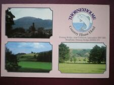 POSTCARD LANCASHIRE CLITHEROE - THORNEYHOLME COUNTRY HOUSE HOTEL