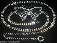 Crystal Belt Made With Swarovski Crystals - CB010