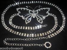 Crystal Belt Made With Swarovski Crystals - CB010