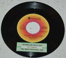 Joe Stampley 45 The Night Time And My Baby / The Most Beautiful Girl  w/ts