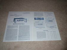 Pioneer SPEC-2 Power Amplifier Review,1977,2 pgs, Info