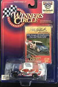1998 DALE EARNHARDT Winners Circle 1/64 50th Anniversary Die cast..OLYMPICS