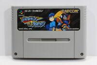 Rockman & Forte Mega Man Bass SFC Nintendo Super Famicom SNES Japan Import I6758
