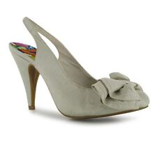 LADIES ROCKET DOG OHNO WEDDING HIGH HEELS - CREAM/THAI SILK - SIZE 6 - BNIB