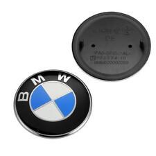 74 mm Emblem Fits BMW Rear Trunk Logo Badge Roundel E46 E90 E82 F30 E85 Z4