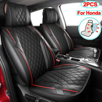 PU Leather Car Seat Covers Universal Accessories Fit for Honda CRV HRV Element