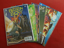All Star Section Eight - Issues 1 2 3 4 5 6 - Complete Run - Ennis, McCrea - DC