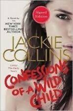 *SIGNED/AUTOGRAPHED* Confessions of a Wild Child by Jackie Collins HC- BRAND NEW