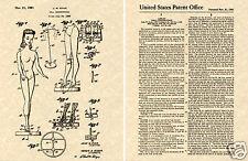 US PATENT for the BARBIE DOLL 1961 Art Print READY TO FRAME!! Mattel John Ryan