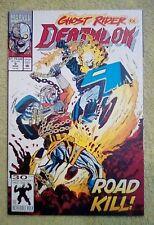 Deathlok #9 (Mar 1992, Marvel) 9.2 NM- (Ghost Rider app.)