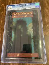 Sandman#8🔥1st Death🔥1989 CGC 9.4-Case Corner Cracked