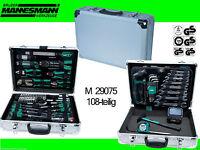 Mannesmann M29075 Alu Werkzeugkoffer Werkzeugsatz 108tlg.Werkzeugkasten 29075