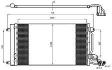NRF Condensador, aire acondicionado para VW POLO SEAT IBIZA AUDI SKODA 35910