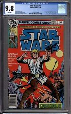 Star Wars 17 CGC Graded 9.8 NM/MT Newsstand Marvel Comics 1978