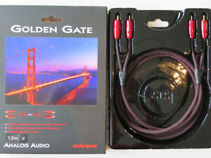 Audioquest Golden Gate Cinch-Kabel 1,5m