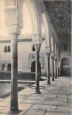 B93461 granada alhambra galeria del patio de los arrayaues    spain