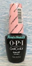 OPI GelColor NEW ORLEANS #1 GC N51 LET ME BAYOU A DRINK pink gel color polish