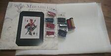 Mirabilia Cross Stitch MD154 Royal Games II  semi kit Chart.Linen.Beads.