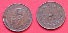 MONETA COIN REGNO D'ITALIA RE VITTORIO EMANUELE II° 1 CENTESIMO 1867 - MILANO #1
