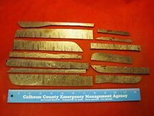 ALABAMA DAMASCUS STEEL BILLET SCRAPS, KNIFE MAKING SUPPLIES -  Thick