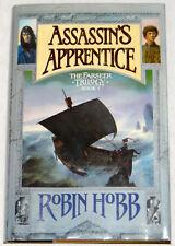 Robin Hobb The Assassin's Apprentice, The Farseer Trilogy 1, UK HC TRUE 1st/1st