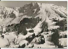 Ansichtskarte Oberjoch - Winterpanorama am Iseler- schwarz/weiß