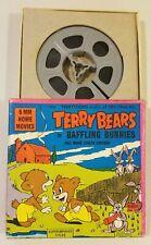VINTAGE TERRY BEARS IN BAFFLING BUNNIES 8MM HOME MOVIES REEL #558 1960's CARTOON
