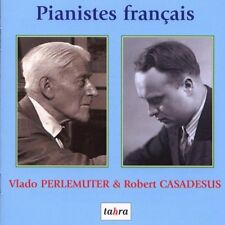 Vlado Perlemuter, Robert Casadesus Piano Tahra New Sealed 2 CD Set RARE