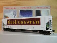 WALTHERS HO SCALE BUILT 4427 OLD FORESTER 5658 GRAIN HOPPER CAR W/BOX 932-5714