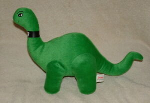 Official Sinclair Oil Dino Dinosaur Brontosaurus Statue Cherry Wood Base NIB