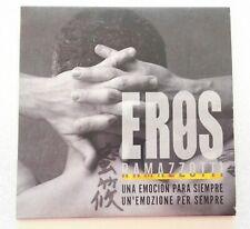 EROS RAMAZZOTTI 'Una Emoción Para Siempre' CD Single Promo 2003 Spanish Edition