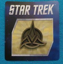 Star Trek Klingon Empire Badge Pin New