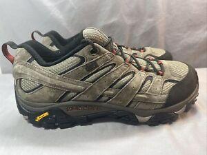 Merrell J08871W Moab 2 Mens Waterproof Hiking Shoes Brown US SIZE 12 W