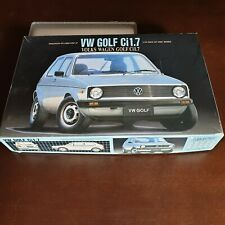 Maqueta Volskwagen Golf Ci 1.7 Fujimi escala 1/24.