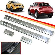 Scuff Plate Sill Door Step Plate Stainless Steel Chrome Fit Nissan Juke 11-15