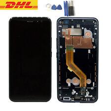 Für HTC U11 LCD Display Touchscreen Glas Bildschirm mit Rahmen Schwarz + Tools