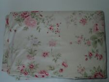 Rachel Ashwell Shabby Chic Wildflower Cream/Tea Stain Twin Duvet - Brown Label!