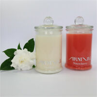 HIGHLY SCENTED 100% NATURAL SOY WAX CANDLE 30 hr burn time CHOOSE FROM 59 SCENTS