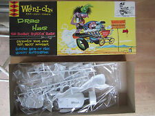 Vintage 1963  Hawk  Weird-ohs Car Icky Tures Drag Hag  Model Kit