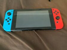 Nintendo Switch 32GB Console Tablet w/ Red & Blue & Gray Joy Con Bundle